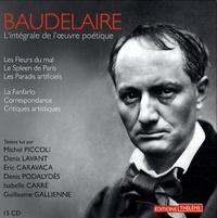 Charles Baudelaire - L'intégrale de l'oeuvre poétique. 21 CD audio