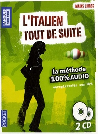 Pocket - L'Italien tout de suite. 2 CD audio