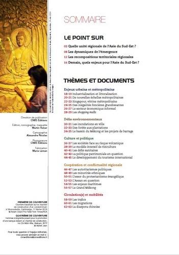 La Documentation photographique N° 8134/2020-2 L'Asie du Sud-Est