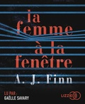 A. J. Finn - La femme à la fenêtre. 1 CD audio MP3