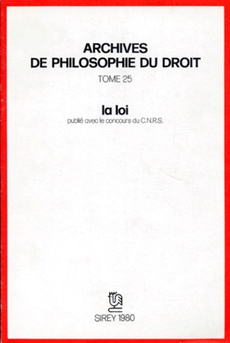 Villey - La Loi.