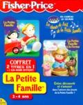 Fisher-Price - LA PETITE FAMILLE COFFRET 2 CD-ROM : LA PETITE FAMILLE. - LA PETITR FAMILLE A LA FERME. 3CD-ROM.