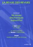 Arnaud Jacob et Jean-Michel Salaün - La revue des revues N° 35, 2004 : Les revues électroniques aujourd'hui.