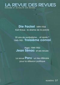 Marianne Dautrey et Dominique Rabourdin - La revue des revues N° 37, 2005 : .