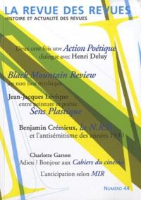 Olivier Corpet - La revue des revues N° 44, Automne 2010 : .