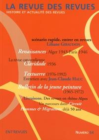 Liliane Giraudon et Jean-Claude Hauc - La revue des revues N° 54 : .