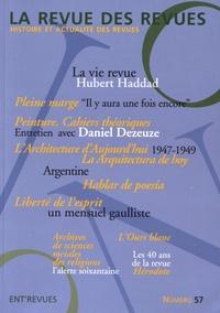 André Chabin - La revue des revues N° 57 printemps 2017 : .