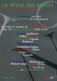 André Chabin - La revue des revues N° 58, automne 2017 : Ecrivains et artistes de langue française dans les revues italiennes (1880-1920).