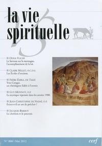 Cerf - La vie spirituelle N° 800, juin 2012 : .