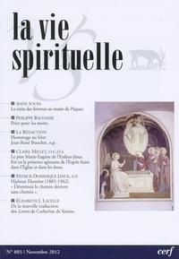 Cerf - La vie spirituelle N° 803, décembre 201 : .