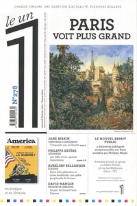 Julien Bisson - Le 1 N° 278, Mercredi 8 j : Paris voit plus grand.