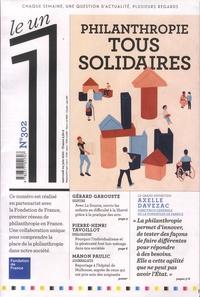 Julien Bisson - Le 1 N° 302, mercredi 24  : Philanthropie - Tous solidaires.