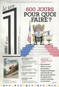Julien Bisson - Le 1 N° 312, mercredi 2 s : 600 jours pour quoi faire ?.