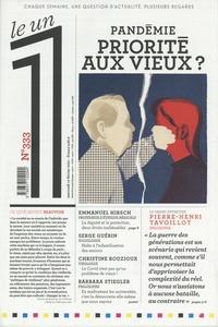 Julien Bisson - Le 1 N° 333, mercredi 10  : Pandémie, priorité aux vieux ?.