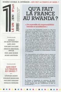 Julien Bisson - Le 1 N° 348, mercredi 26  : Qu'a fait la France au Rwanda ?.