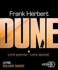 Frank Herbert - Le cycle de Dune  : Tome 1, Dune ; Tome 2, Muad'Dib. 2 CD audio