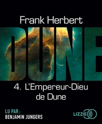 Frank Herbert - Le cycle de Dune Tome 4 : L'empereur-dieu de dune. 2 CD audio MP3