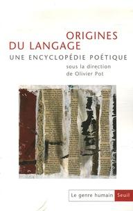 Olivier Pot - Le genre humain N° 45/46 : Origines du langage.