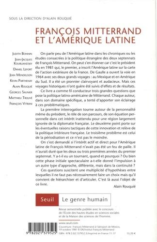 Le genre humain N° 58 François Mitterrand et l'Amérique latine (1971-1995)