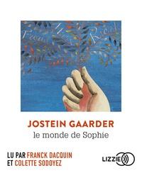Jostein Gaarder - Le monde de Sophie. 2 CD audio MP3
