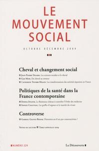 Jean-Pierre Digard - Le mouvement social N° 229 : .