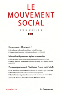 Frédérique Matonti et Vincent Gayon - Le mouvement social N° 239, avril-juin 2 : .