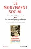 Annie Fourcaut et Danièle Voldman - Le mouvement social N° 245, Octobre-déce : Les crises du logement en Europe au XXe siècle.