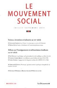 Jean-François Chanet - Le mouvement social N° 248 juillet-septe : .