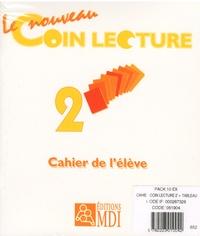 MDI - Le nouveau coin lecture 2 - Pack 10 exemplaires cahier de l'élève + poster.