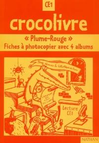 """Jean-Emile Gombert et Pascale Colé - Lecture CE1 """"Plume-Rouge"""" - Fiches à photocopier avec 4 albums."""
