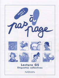 Claude Giribone et Marcel Hugon - Lecture Grande Section Niveau 1 Cycle 2 - Etiquettes collectives.