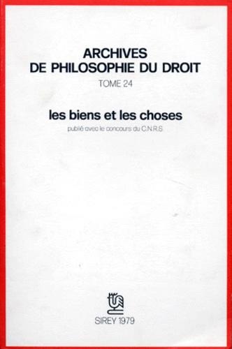 Michel Villey - Les Biens et les choses.