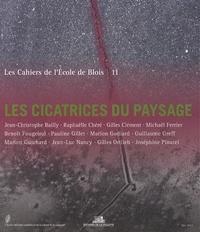 Jean-Christophe Bailly - Les cahiers de l'Ecole de Blois N° 11, mai 2013 : Les cicatrices du paysage.