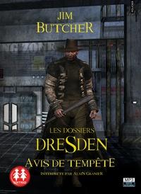 Jim Butcher - Les dossiers Dresden Tome 1 : Avis de tempête. 1 CD audio MP3
