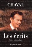 Chaval - Les écrits.
