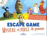 Amstramgram - Les P'tites Poules Escape game Mystère et Poule de gomme - Avec 1 livret, 40 cartes, 1 poster, 1 bande-son.
