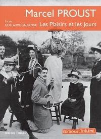 Marcel Proust - Les plaisirs et les jours. 1 CD audio MP3