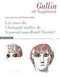 Christian Sapin - Les stucs de l'Antiquité tardive de Vouneuil-sous-Biard (Vienne).