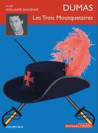 Alexandre Dumas - Les trois mousquetaires. 1 CD audio MP3