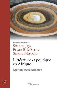 Simona Jisa et Buata-B Malela - Littérature et politique en Afrique.