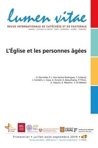 Henri Derroitte - Lumen Vitae Volume 74 N° 3, sept : L'Eglise et les personnes âgées.