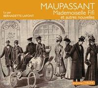 Guy de Maupassant et Bernadette Lafont - Mademoiselle Fifi - Et autres nouvelles. 1 CD audio