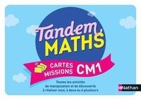 Carole Cortay et Stéphanie Dulout - Mathématiques CM1 Tandem - Cartes missions.