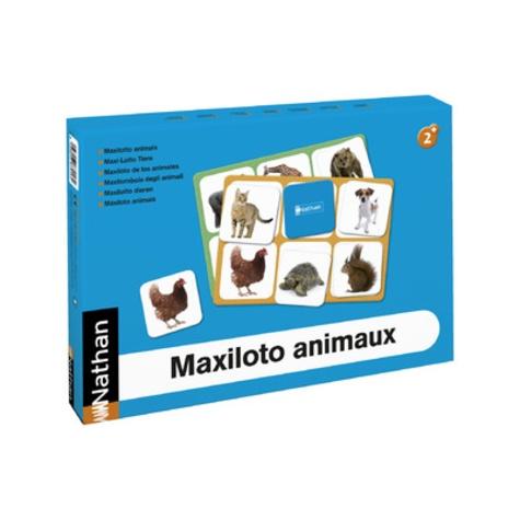 Nathan matériel éducatif - Maxiloto animaux.