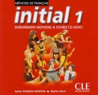 Sylvie Poisson-Quinton et Marina Sala - Méthode de Français, initial 1 - 2 CD audio.