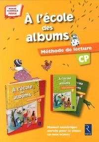 Agnès Perrin - Méthode de lecture CP A l'école des albums. 1 Cédérom
