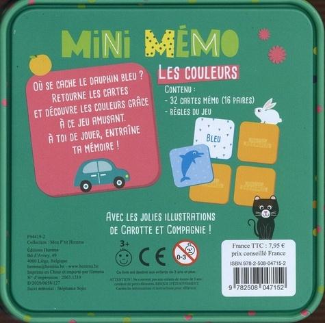 Mini mémo Les couleurs