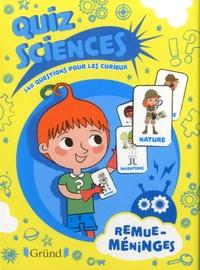 Nathalie Lescaille et Alice Turquois - Mon quiz sciences.