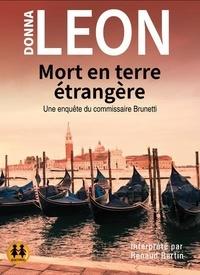 Donna Leon - Mort en terre étrangère. 1 CD audio MP3