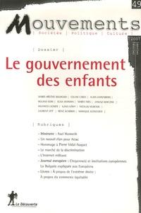 Gilbert Wasserman - Mouvements N°49, Janvier-Févrie : Le gouvernement des enfants.